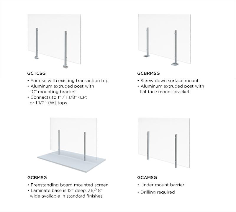 plexi glass screens